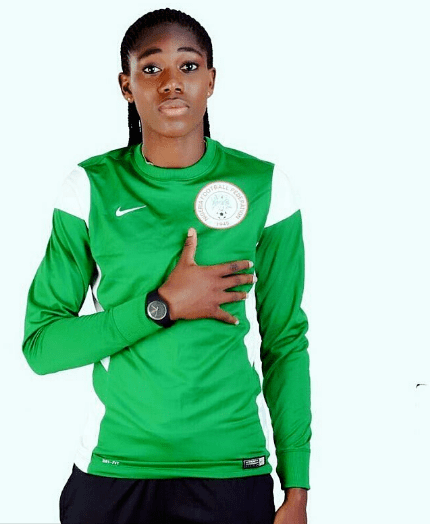 Asisat Oshoala Nigerian Female Footballers That Are Sexy Asisat Oshoala