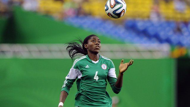 Asisat Oshoala BBC Sport BBC Women39s Footballer of the Year award