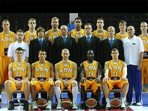 ASK Riga ASK Riga EuroCup 2007 FIBA Europe