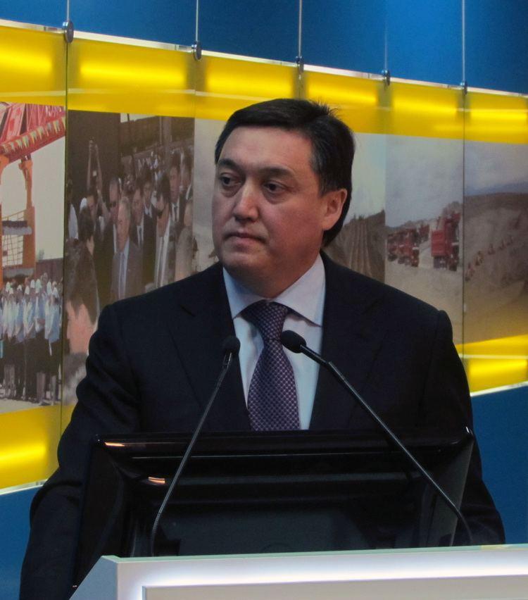 Askar Mamin Askar Mamin Biography Economist Kazakhstan