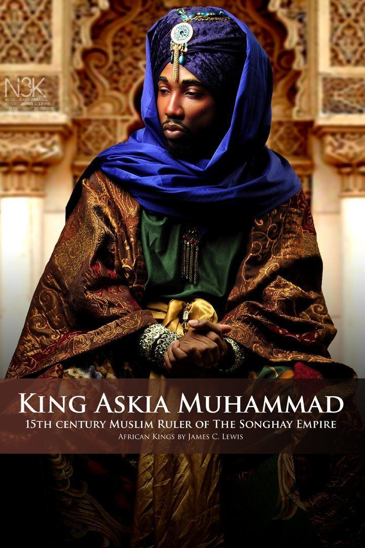 Askia Muhammad AFRICAN KINGS by International Photographer James C Lewis