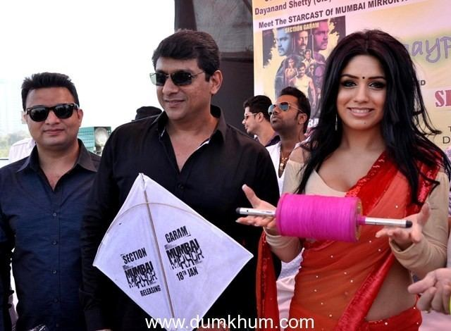 Aslam Shaikh Bollywood came at Kite flying competition planned by MLA Aslam