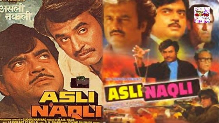 Asli Naqli 1986 Full Length Hindi Movie Rajinikanth Shatrughan
