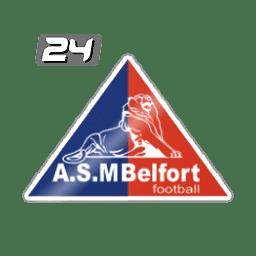 ASM Belfort wwwfutbol24comuploadteamFranceASMBelfortpng