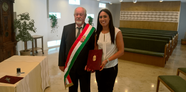 Asma Elghaoui Asma Elghaoui magyar llampolgr lett Kzilabda Live