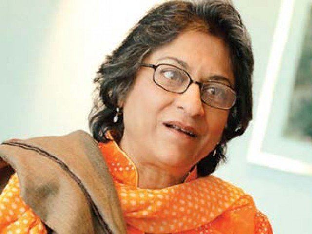 Asma Jahangir Twitter alert Asma Jahangir a target for defamation The