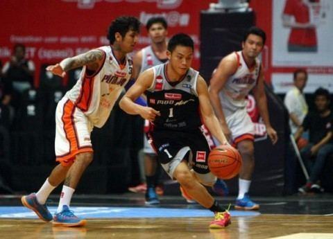 Aspac Jakarta M88 Aspac Jakarta defends Indonesian NBL Court Side Basketball News