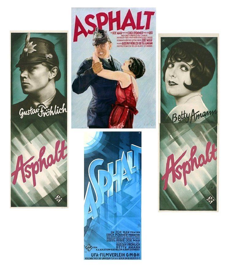 Asphalt (1929 film) Cinema classics on DVD Betty Ahman Asphalt 1929 German silent
