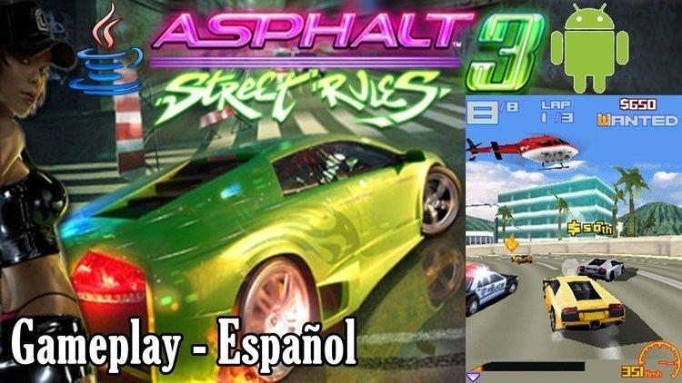 Asphalt 3: Street Rules Asphalt 3 3D Street Rules Espaol Android amp Java YouTube