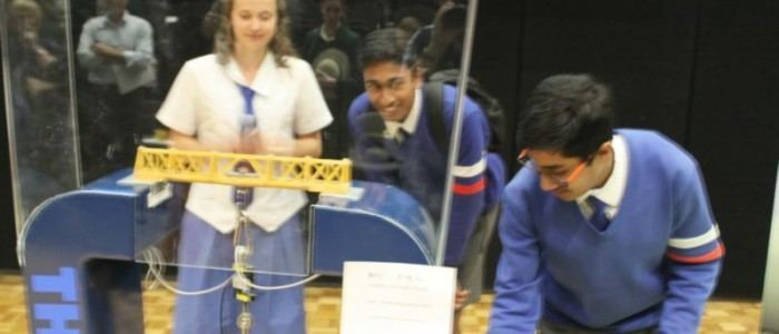 Aspley State High School The Engineering Link Group First and Second places break Spaghetti