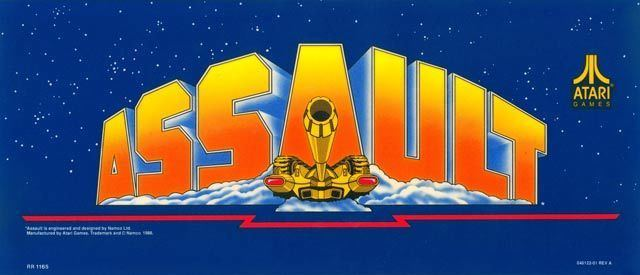 Assault (1988 video game) Assault Videogame by Namco