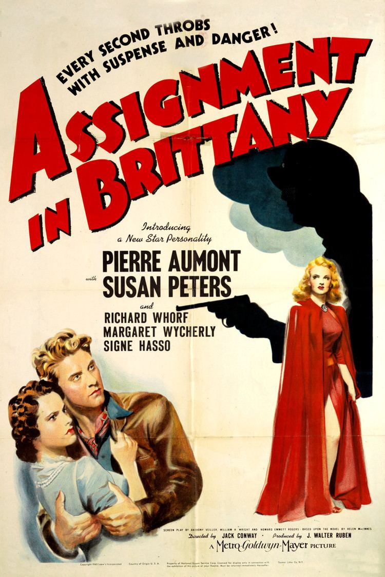 Assignment in Brittany wwwgstaticcomtvthumbmovieposters39574p39574