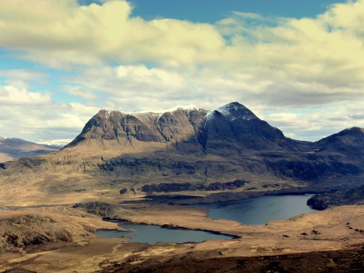 Assynt Mountain Freedom Assynt and Coigach Traverse Backpacking