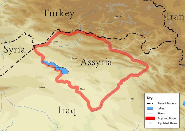 Assyrian homeland