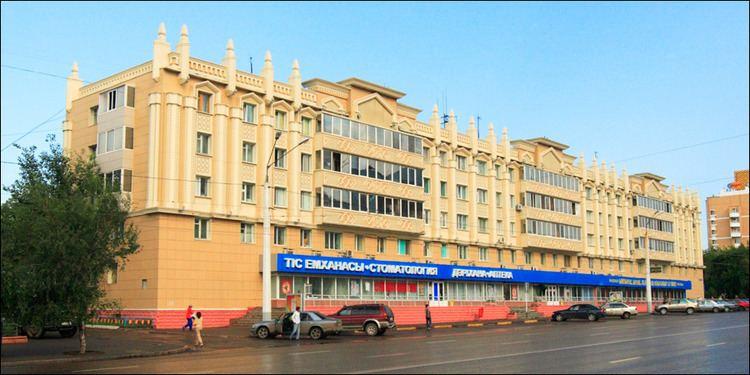 Astana in the past, History of Astana