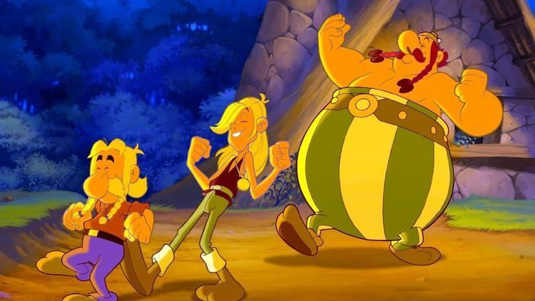 Asterix and the Vikings movie scenes ASTERIX AND THE VIKINGS aka ASTERIX ET LES VIKINGS Asterix Goudurix