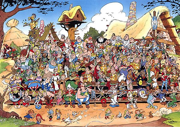 Asterix (character) List of Asterix characters Wikipedia