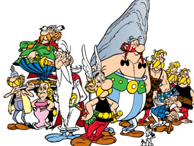 Asterix (character) Asterix goes desi His next adventure is in India with Gandhix