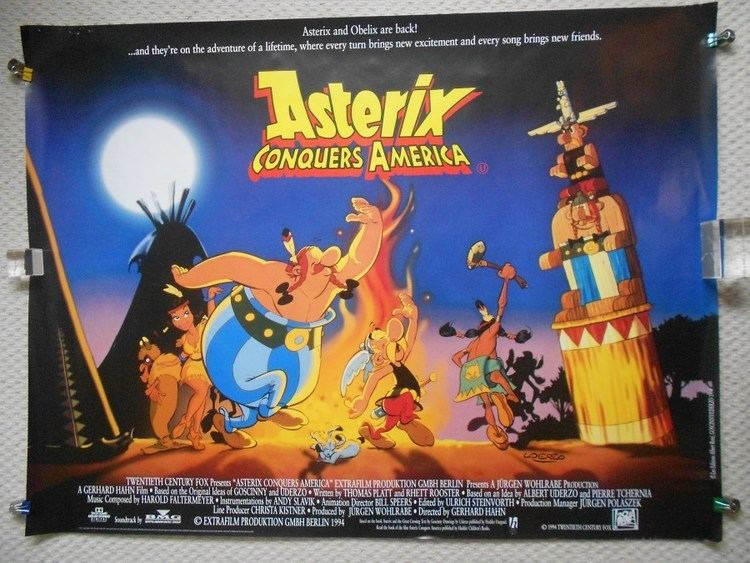 Asterix Conquers America movie poster