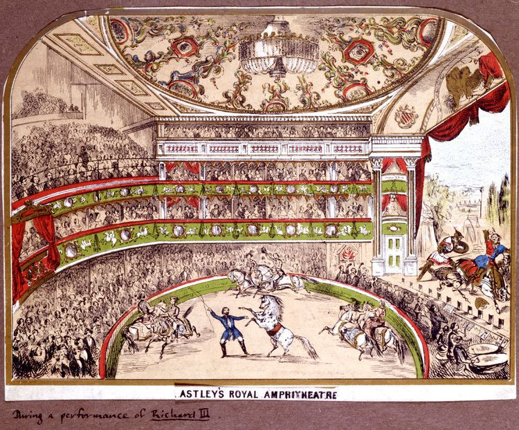 Astley's Amphitheatre The First Circus Victoria and Albert Museum