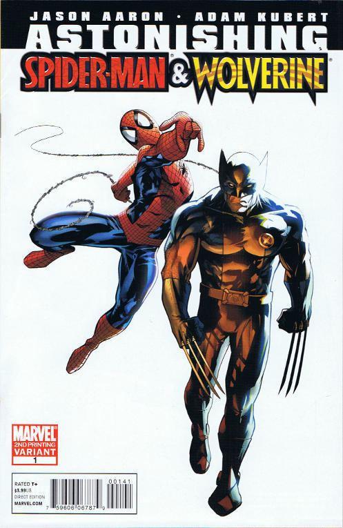 Astonishing Spider-Man & Wolverine SpiderFanorg Comics Astonishing SpiderMan amp Wolverine