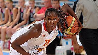 Astou Ndour Astou Ndour Spain and Gran Canaria 2014 FIBA Europe