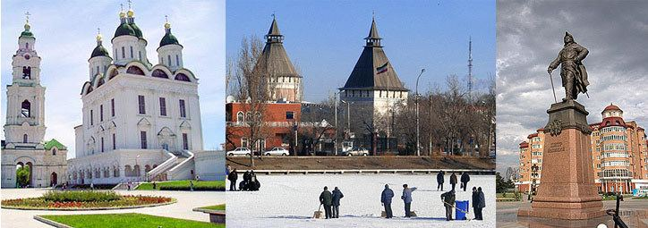 Astrakhan in the past, History of Astrakhan
