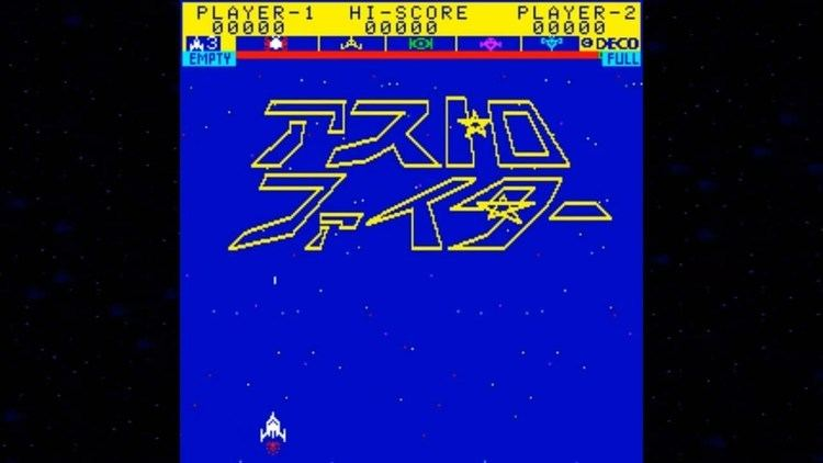 Astro Fighter Astro Fighter 1979 Data East Mame Retro Arcade Games YouTube