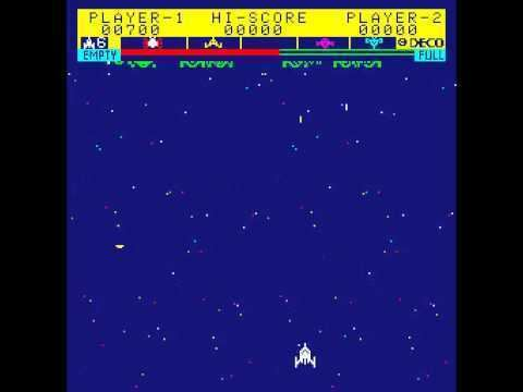 Astro Fighter Arcade Game Astro Fighter 1979 Data East YouTube