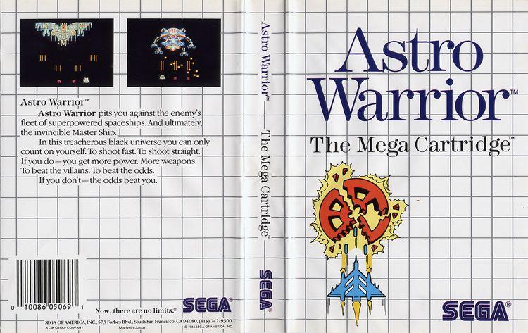 Astro Warrior Astro Warrior USA All sides Scans SMS Power