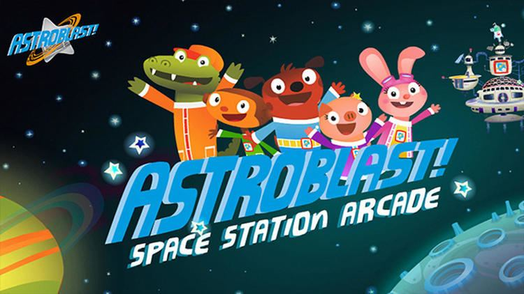 Astroblast! Space Station Arcade Astroblast Sprout