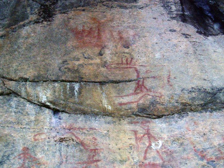 Astuvansalmi rock paintings