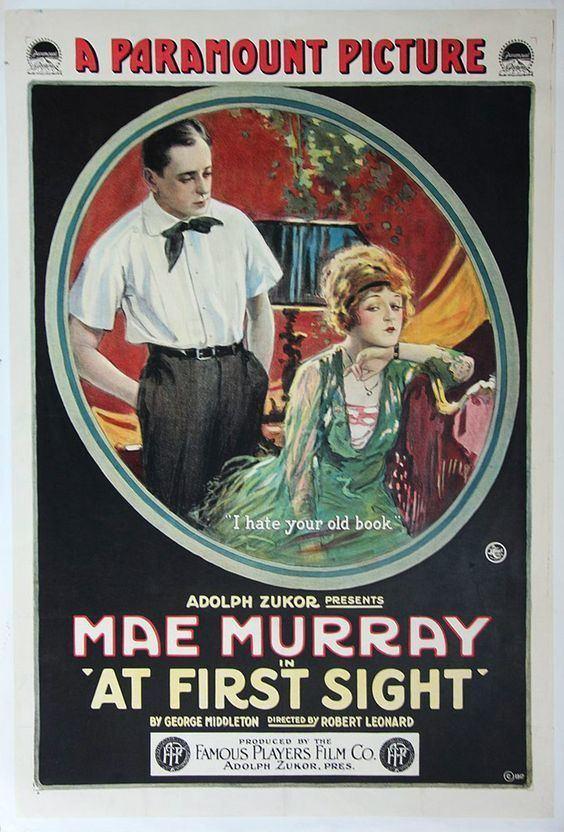 At First Sight (1917 film) 1917 AT FIRST SIGHT Robert Z Leonard Cine Pinterest