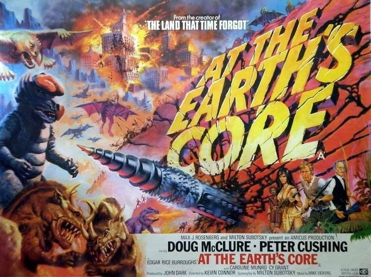At the Earth's Core (film) At the Earths Core 1976 HORRORPEDIA
