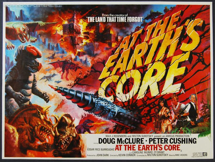 At the Earth's Core (film) At the Earths Core Book vs Movie Mana Pop