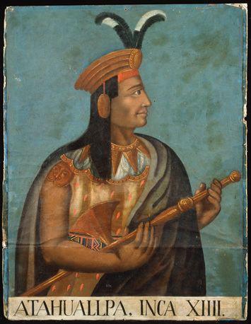 Atahualpa Atahualpa Last Inca Emperor Archaeology Magazine