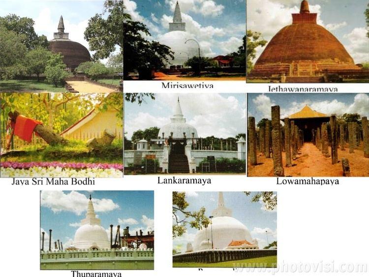 Atamasthana Atamasthana Eight Sacred Places in Sri Lanka AutoVisionToursSriLanka