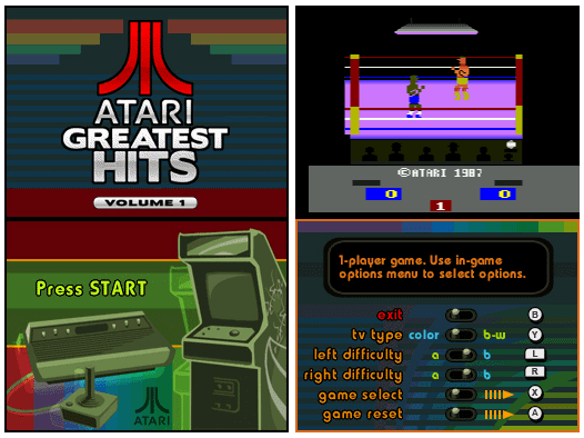 Atari Greatest Hits Gaming on the Go Review Atari Greatest Hits Volume I DS