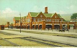 Atchison, Topeka and Santa Fe Passenger Depot (Colorado Springs, Colorado) httpsuploadwikimediaorgwikipediacommonsthu
