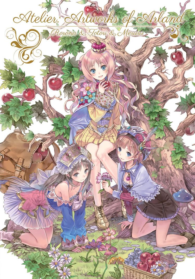 Atelier (series) Udon Entertainment Announce New Art Book License Atelier Artworks