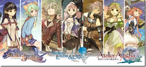 Atelier (series) Atelier39s Dusk Series Is Crossing Into Sega39s Chain Chronicle