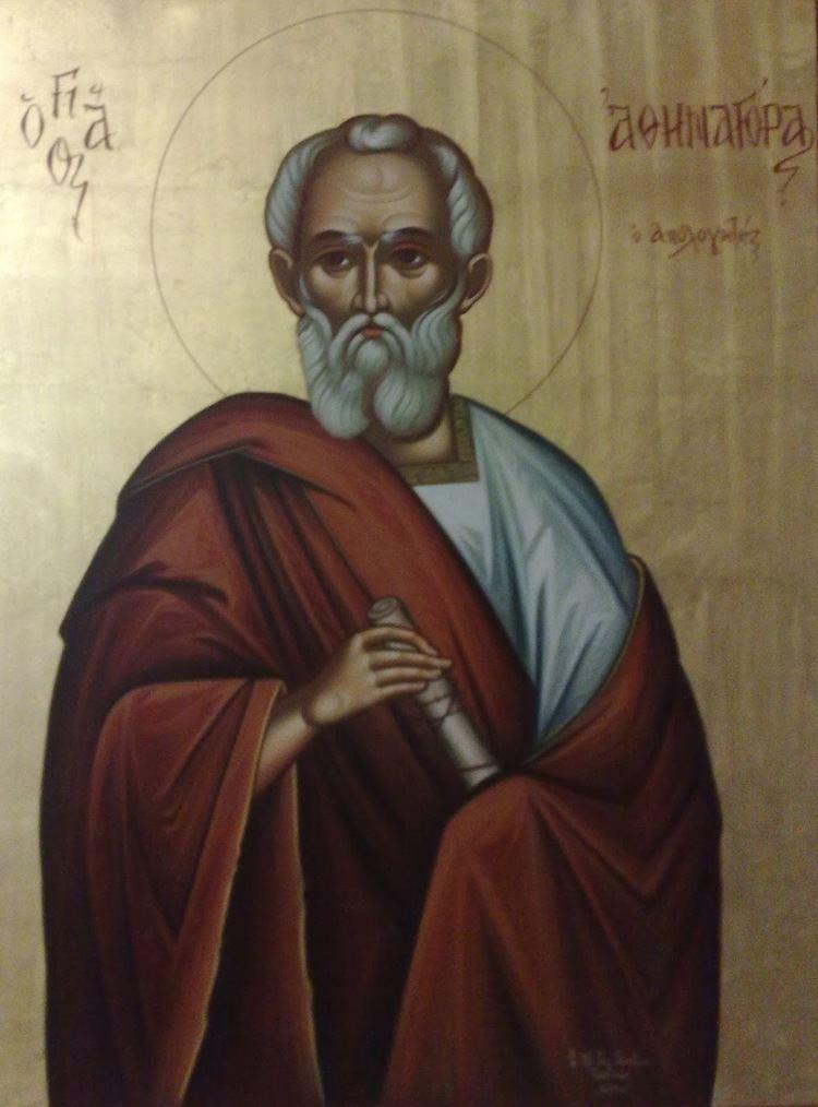 Athenagoras of Athens Saint Athenagoras the Athenian and Apologist MYSTAGOGY RESOURCE CENTER
