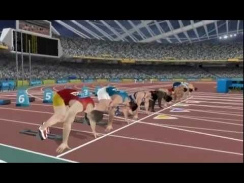 Athens 2004 (video game) Athens 2004 Episode 1 100m HQ YouTube