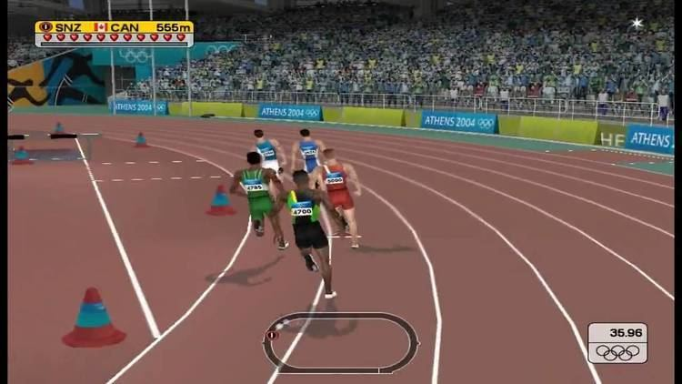 Athens 2004 (video game) Athens 2004 PC 800M Gameplay YouTube