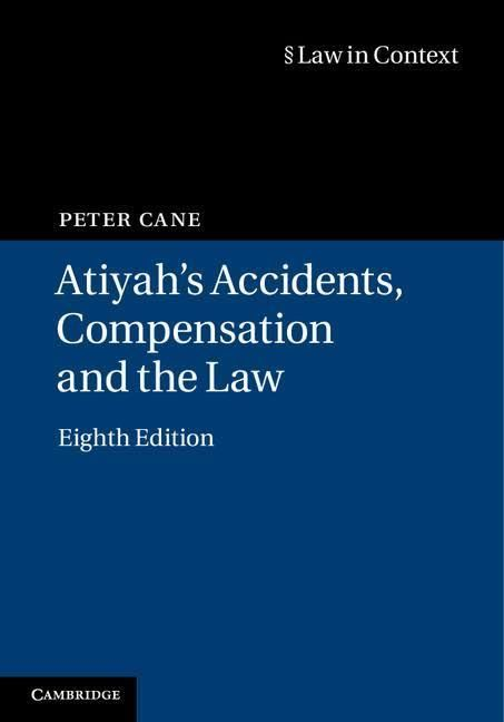 Atiyah's Accidents, Compensation and the Law t2gstaticcomimagesqtbnANd9GcQiwueqGkgud5peX