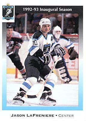 Atlanta Knights Atlanta Knights 199293 Hockey Card Checklist at hockeydbcom