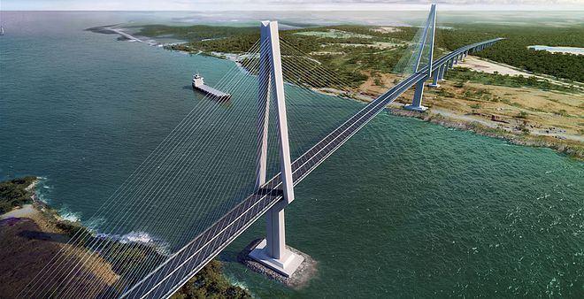 Atlantic Bridge, Panama Punta Bejuco Panama Canal