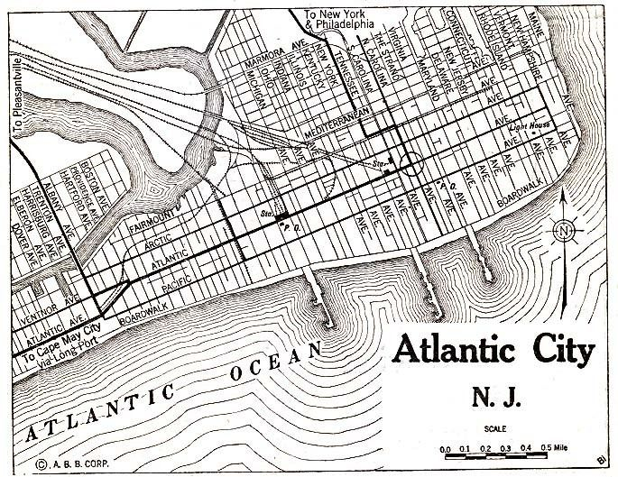 Atlantic City, New Jersey in the past, History of Atlantic City, New Jersey