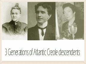 Atlantic Creole atlantic creoles the answer to the riddle Great Grandmother39s Blog