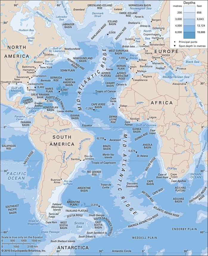 Atlantic Ocean Atlantic Ocean Britannicacom